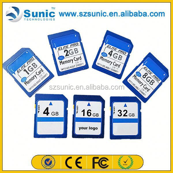 Factory supply new product original full capacity 1gb-128gb 128 gb sd card
