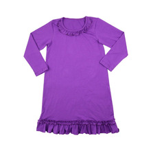 dresses for 12 year baby olds winter purple longsleeve fashion design small girls dress