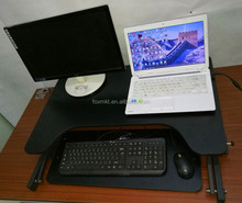 pneumatical stand up desk with sit stand office use standing desk