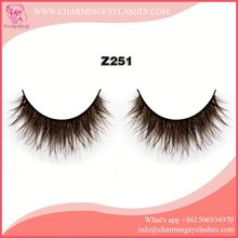 mink material false eyelash mink extensions