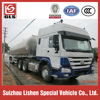 HOWO tractor aluminum Tank trailer for sale, loading capacity 40M3