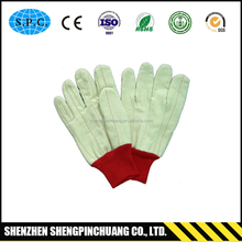 SPC-F226 skin color heavy duty cotton gloves
