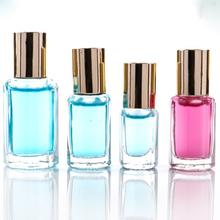 Hot sale roll on perfume glass bottle 3ml with aluminum cap