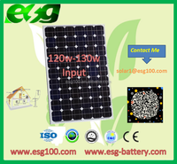 120W Most popular Pv module monocrystalline solar panels