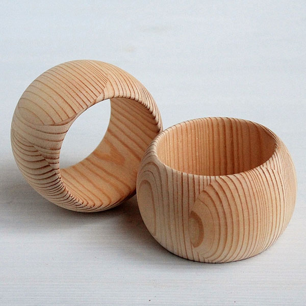 Natrual Eco-friendly Unfinish Wooden Bangle, Rustic Women Bangle