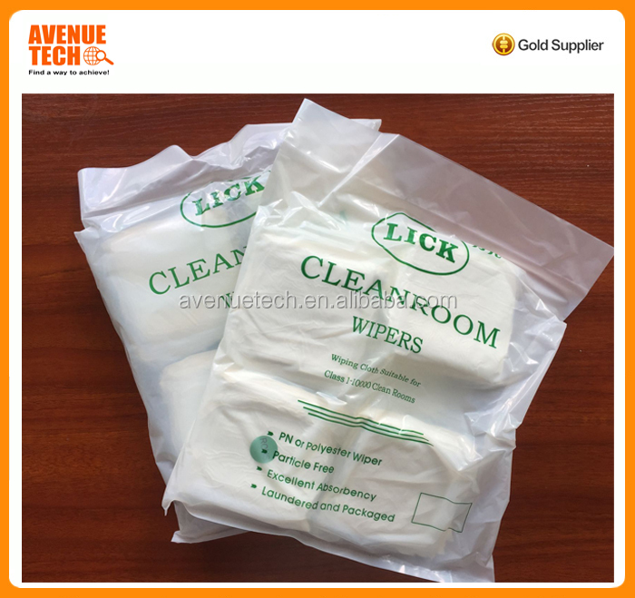 factory direct supply Non-dust cleaning cloth, superfine microfiber cloth, cleanroom wipers for digital electronics
