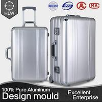 customize brand luggage bag trolley bag us polo luggage