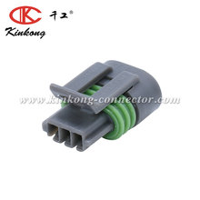 3 pin automotive socket connector plug