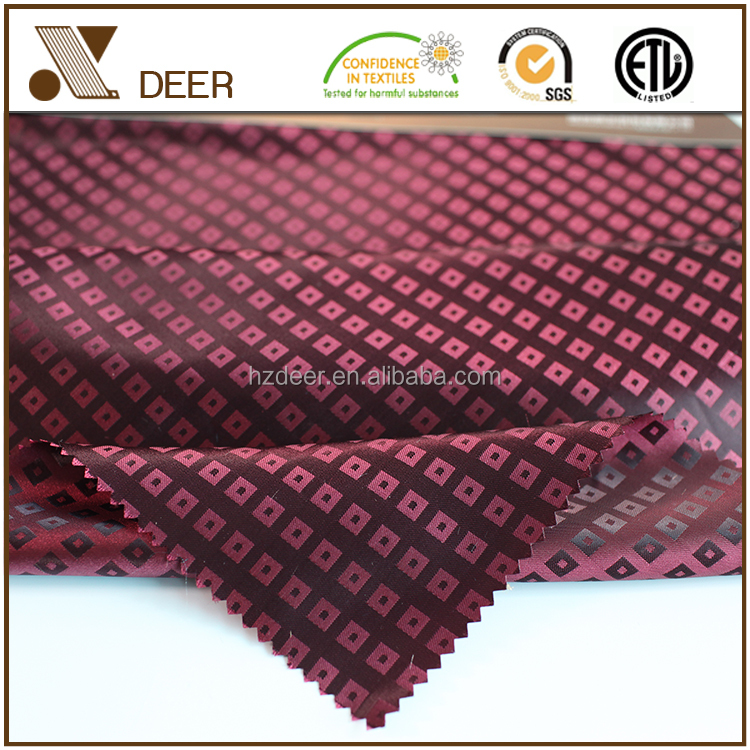 Cheap Woven 100 Polyester Jackets Inner Lining Satin Fabric