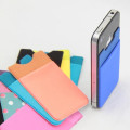 Hot selling spandex Lycra 3m sticker smart wallet mobile card holder