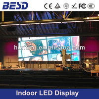 Aliexpress hot sales P6 indoor full color led sign, stage background led panel