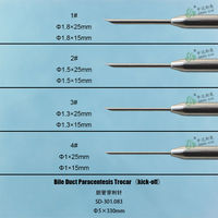 Customized for foreign hospital Surgical Instruments Medical Equipment Bile Duct needle