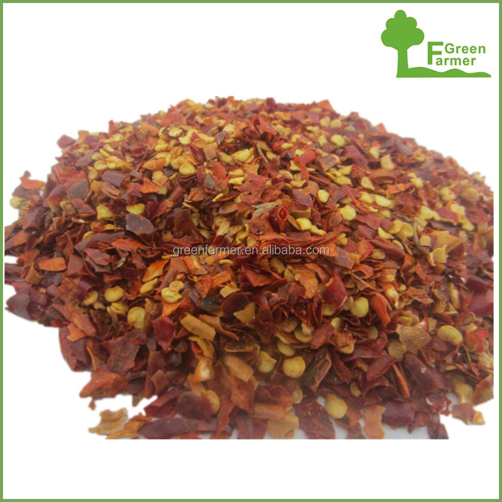 New crop hot dried chili flakes