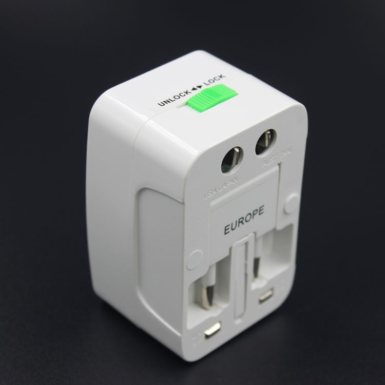 Hot sale electric travel adapter/electrical multi socket <strong>plug</strong> / white international <strong>plug</strong>