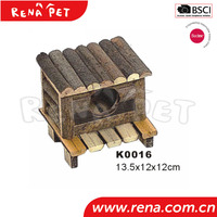 China credible supplier luxury wooden hamster cage