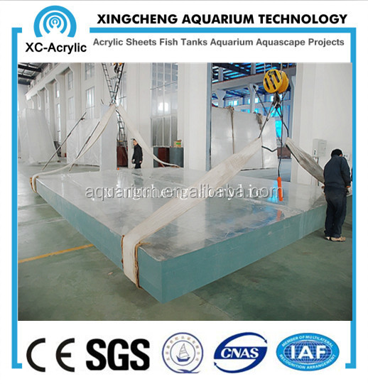 high quality acrylic sheet project for acrylic aquarium