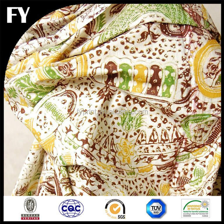 Factory digital super java print fabric