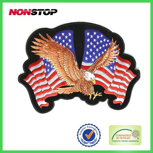 Embroidered Patches America flag Military Patch