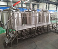 Beer factory equipment, glycol jacket beer fermenter