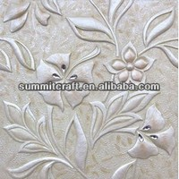 New resin tv background wall panel