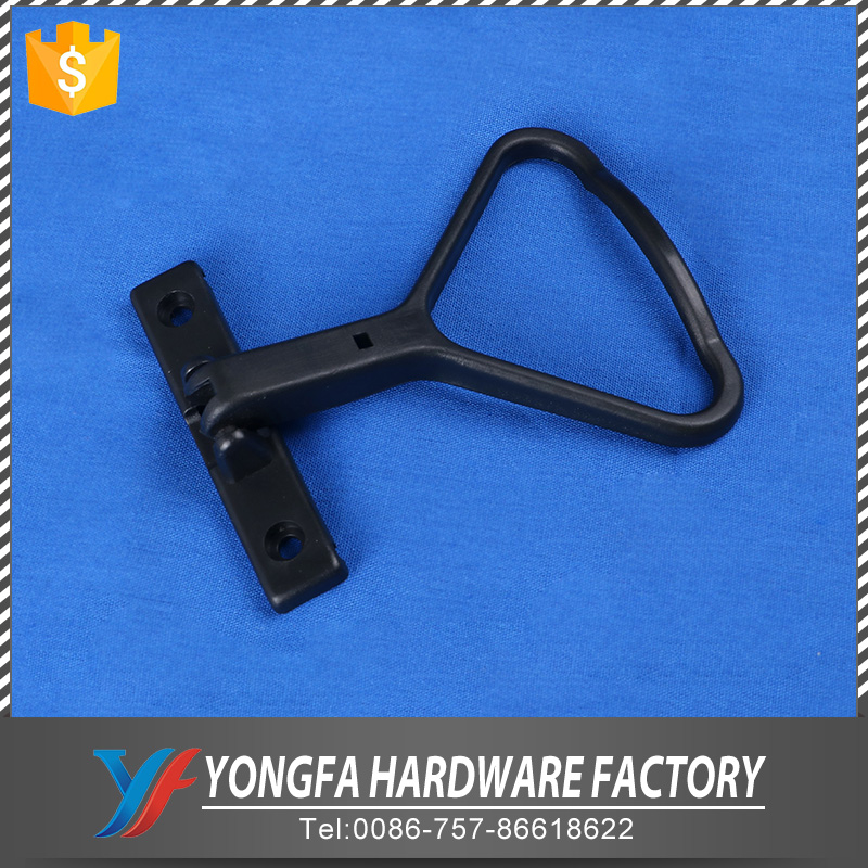 Foshan stationery oem factory plastic triangle spring mechanism binder mouse clips for file box