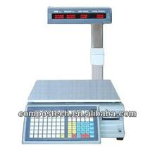 Supermarket Label Printer Scale Weighing Scale Barcode Printing Scales