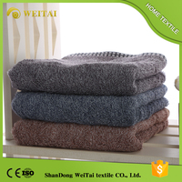 Best seller 100 cotton small face bamboo fabric towel set