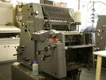 Heidelberg Gto 52 Sheet-Feed Offset Machinery