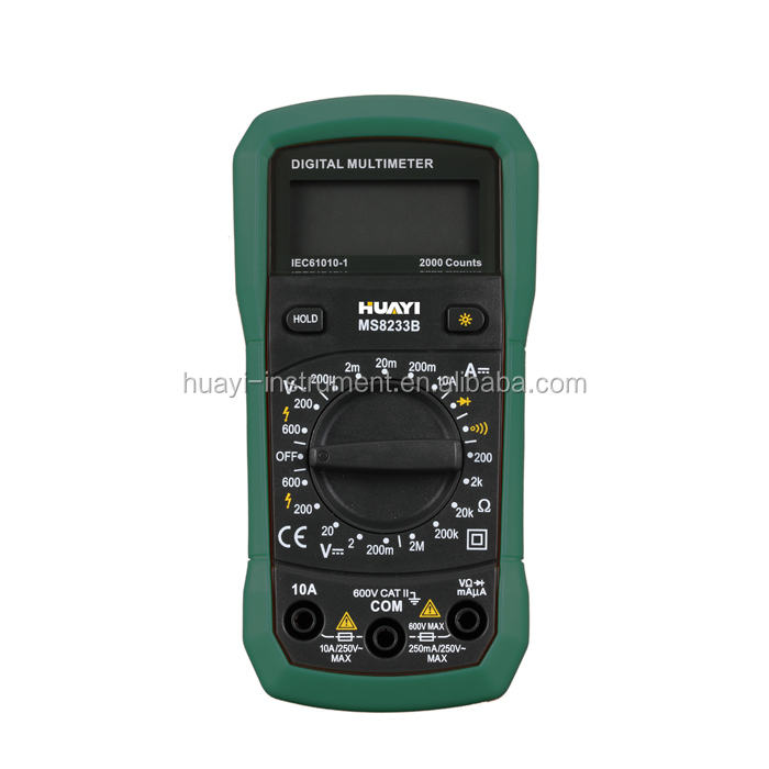 High Quality Protable Digital Multimeter MS8233B 10A DC