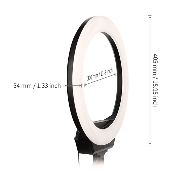 AFI 16'' photography makeup led ring light