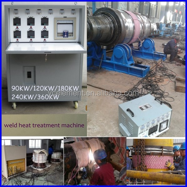 heat treatment furnace used post weld heat treatment