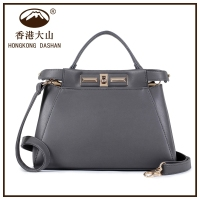 Fashion bag 2015 women leather handbag cross lock simple designer women brand name hand bag