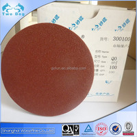 Good quality electro coated aluminum oxide PSA or self-adhesive sanding disc
