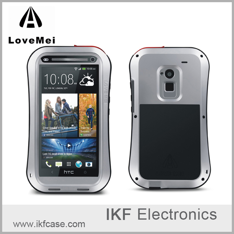 2016 Hot Original Lovemei Small Waist Version Aluminum Bumper Case for HTC ONE MAX T6 8160 8088 809D Metal Armor Phone Case