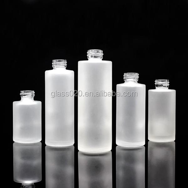 50ml cosmetic glass frosted and clear bottle with dropper for e liquid use selling best