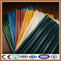 pc corrugated transparent roofing sheet/corrugated metal roofing sheet machine/28 gauge corrugated steel roofing sheet