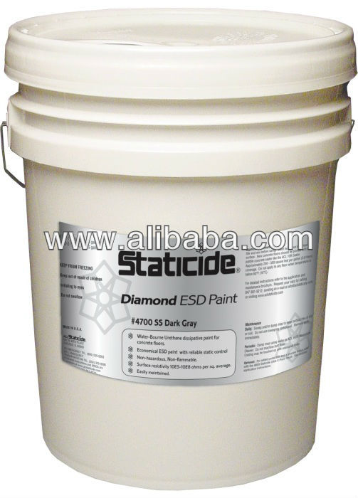 4700SS Polyurethane Anti-Static ESD Floor Coating - ANSI/ESD S20.20 and RoHS Compliant