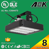 100w led projector lamp industrial warehouse gas station light