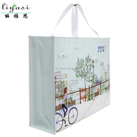 Reusable Eco-Friendly Shopping Bags Nonwoven Grocery Tote shopper tote