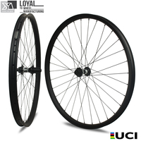 giant carbon mtb rim 29er clincher MTB wheels 33mm width 30mm profile mountain bike wheel