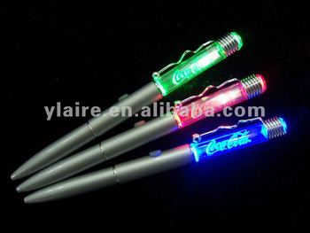 high quality metal led lighting pen