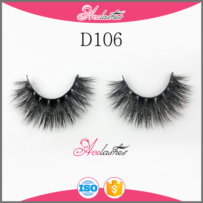 Own Brand Eyelashes Pure Hand Made 3D Mink Lashes Wholesale