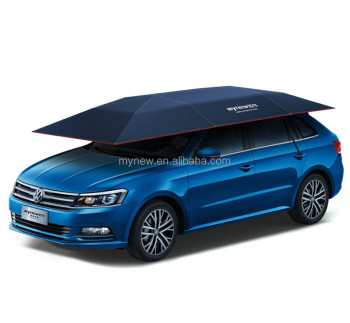 MYNEW customer printing automatic car sun visor waterproof and UV proof