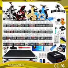 Wholesale 56 Color Inks 4Gun kit Power Supply Needles Box