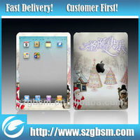 new design front & back cover vinyl sticker for ipad