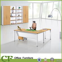 CF-D10309 New design white office furniture computer table design