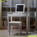 Wooden dressing table moedern furniture with flip up mirror for Japanese