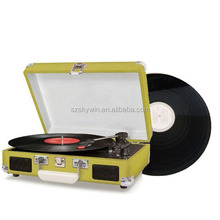 Fashion Design Custom Luxury Vinyl Record Player USB Turntable For sale