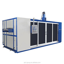 PP Rectangular Container Cover Thermoforming Machine With Stacker