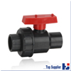 Factory manufacturing all size available pvc single union ball valve